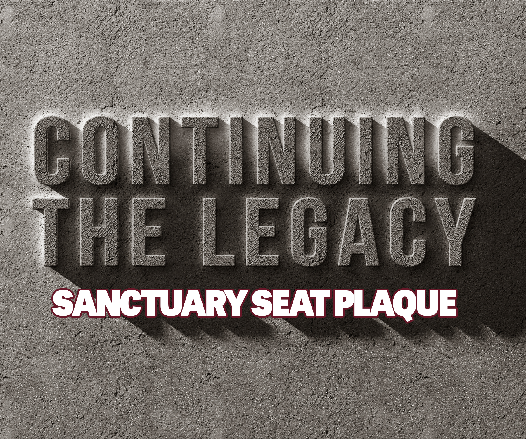 Continuing The Legacy Seat